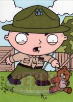 Stewie as FMJ Drill Sergeant by ElainePerna