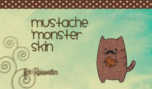Mustache Monster.. by YuliRgz