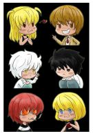 DN chibi collection by rayn44