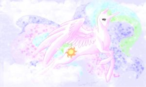 Princess Celestia by La-gato-negro