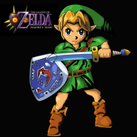 Majora's Mask: Link by Jero-Draw