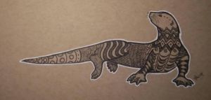 Inktober, 2014: October 23rd by Twitchy-Kitty-Studio