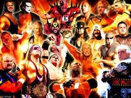 Wallpaper - Favorite Wrestlers by AISTYLES