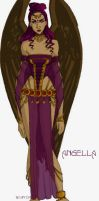 Redesign: Angella by persephohi