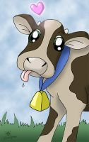 Happy Cow by MeMiMouse
