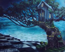 tree house by MorticianGypsy