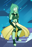 Green Nephrite by D-issimulate