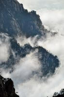 Huangshan -4 by DawnRoseCreation