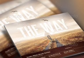 The Way Church Flyer and CD Template by loswl