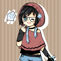 Hipster Xion by ariamisu