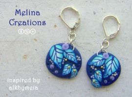 alkhymeia inspired earrings 3 by MelinaCreations
