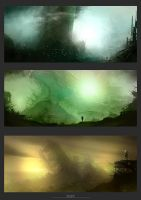 Enviro Sketches 4 by artificialdesign