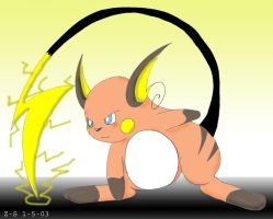 Raichu by zacharysurge