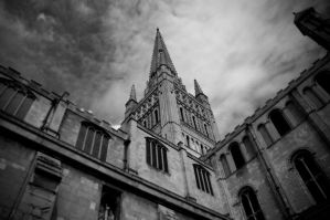 Norwich Cathedral II by IrisKnight