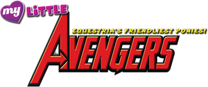My Little Avengers logo by Shishioh