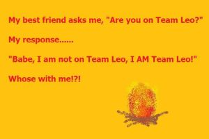 I AM Team Leo by YoungJusticeLover