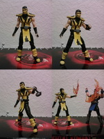 Mortal Kombat 9 Scorpion by Vash-15