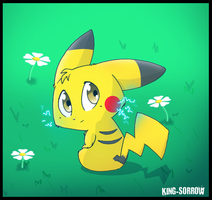 pikachu 2 by KING-SORROW