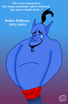 Robin Williams RIP by UncleScooter