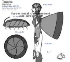 Tundra Ref Sheet by Cathy Noon by fembotsunite