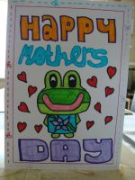 Mother's Day Card by Toad-x-Yoshi-x-Peach