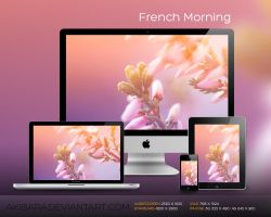 French Morning by akibara