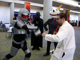 Master Cheif vs Gordon Freeman by biggestsonicfan