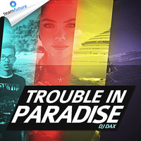 Trouble In Paradise Mixtape Cover by Crazed-Artist