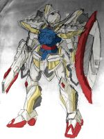 Turn A Gundam -Sketch- by ArtNotHearts