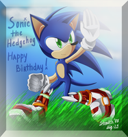 Sonic's 17 Birthday Gift by Fireball-Flamery