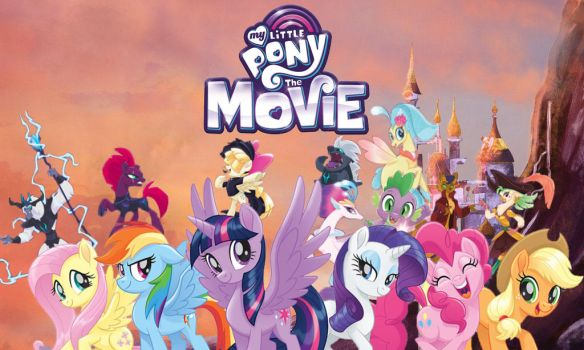 Mlp Movie Banner (FAN MADE) by Movies-of-yalli