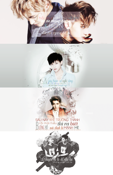[140626] - {PACK COVER FB}: KRISTAO by BlackAngled