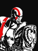 Kratos by BlackSheep3000