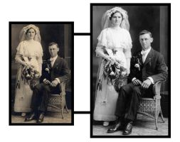 photo restoration project by minorinfluence05