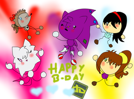 happy b-day dA by BechaXFluo
