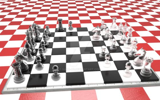 Full chess game by Sara-A2