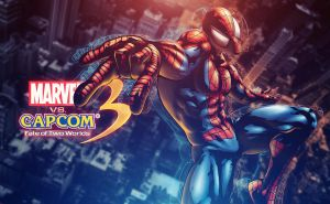 MVC 3 Spiderman Wallpaper by TheShadowloo