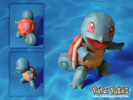 Squirtle Papercraft by Lyrin-83