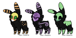 Skull Fuzzies: OPEN [50 Points Each] by Alex-Adopts