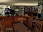 sims 3: Corbix's Living room by ownerfate