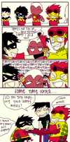 young justice happy meal by mizz-ninja