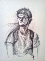 Vance Williams Pen and Ink by SundayPrism