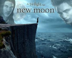New Moon Wallpaper by TwiVal