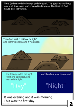 The Creation Story Page 2 by ChristianPony99