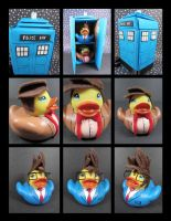 Dr. Who rubber duckies by maskedzone