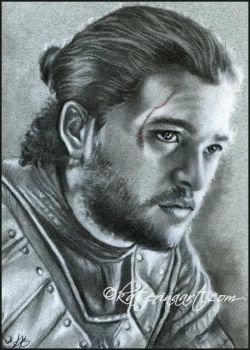Jon snow speed drawing sketch fest by Katerina-Art