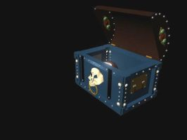 Pirate's Treasure Chest 1 by WoundedCoast