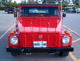Red VW Thing 2 by Ripplin