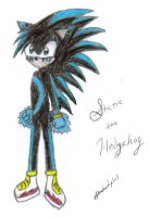 Static the Hedgehog .:AT:. by SilverLinedShadow