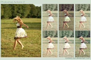 Photoshop Actions 2 by oridzuru